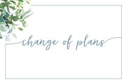 Hamann-Bruggink Change of Plans Postcard
