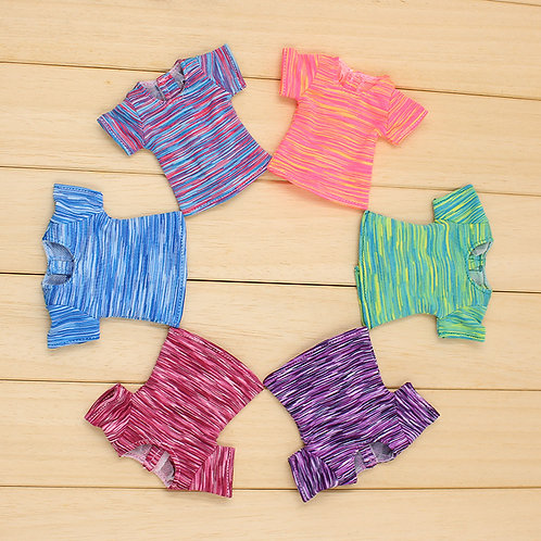 Blythe/Pullip stripe short sleeve T-shirt 6 new colors