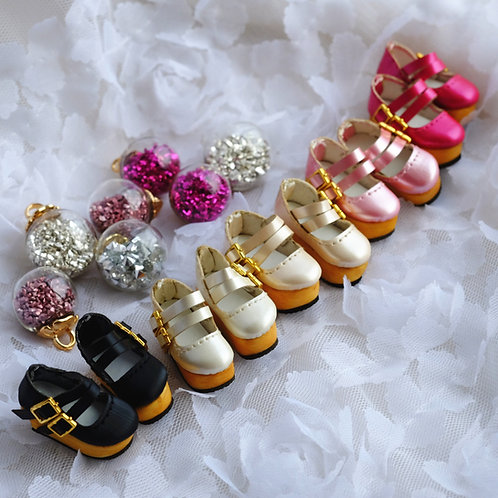 """12""""Blythe/Pullip/mmk/JerryB shoes [Pearl thick]"""