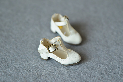 """12""""Blythe/Pullip/mmk/JerryB shoes classic white"""