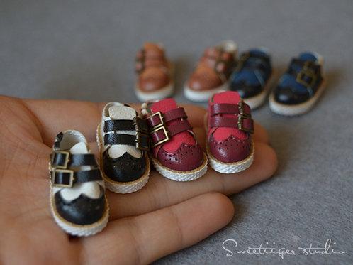 "12""Blythe/Pullip/mmk/JerryB shoes [Oxford fashion]"