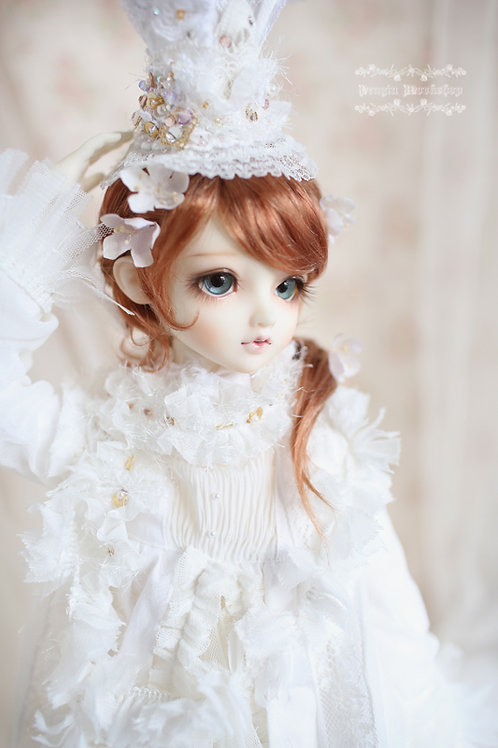 "bjd 1/3 1/4 1/6 sd dd 6-7"" 7-8"" 8-9"" Doll wig"