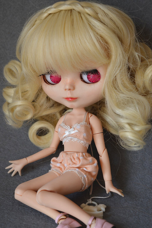 "Blythe/Pullip 8-10"" Doll fantasy wig [Milk cookie]"