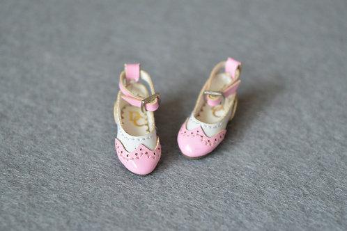 "12""Blythe/Pullip/mmk/JerryB shoes Oxford pink"