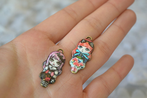 Blythe pull ring noble metal special girls 2 sets