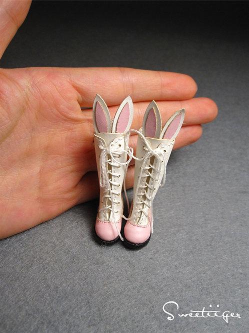 "12""Blythe/Pullip/mmk/JerryB shoes bunny boots"