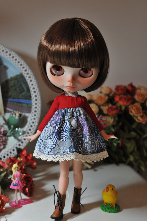 Blythe/Pullip sweet winter dress