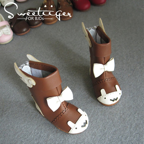 1/6 BJD cute wing-bear boots