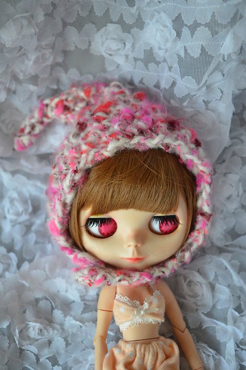 Blythe/Pullip Hand-woven cute pots magic hat