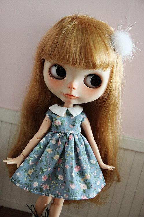 Blythe/Pullip outfit summer flower cute dress