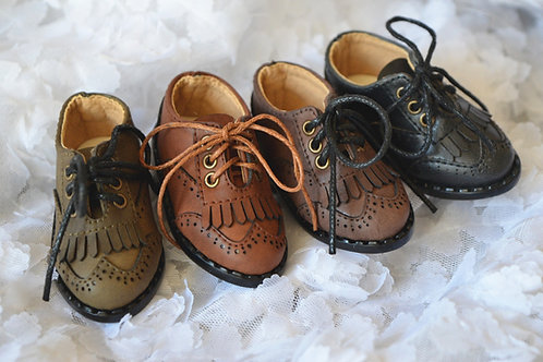 1/4 BJD MSD shoes classic carved Oxford shoes