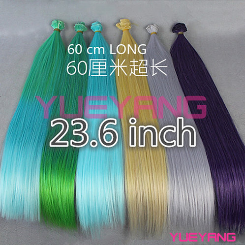 60*100 cm doll wig material rooting hair