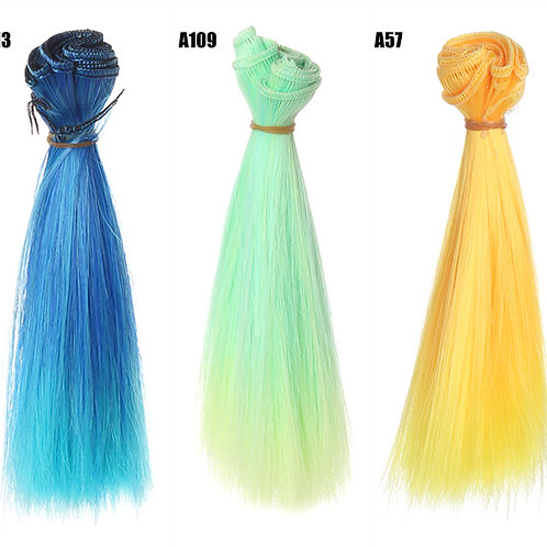 15*100 cm doll wig material rooting hair