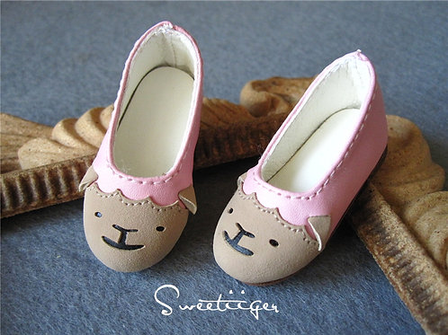 1/6 BJD shoes adorable sheep flat shoes