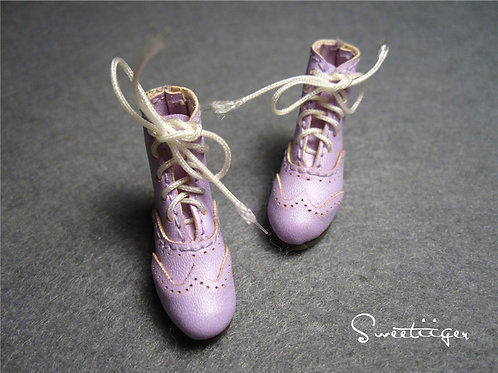 "12""Blythe/Pullip/mmk/JerryB shoes lavender boots"