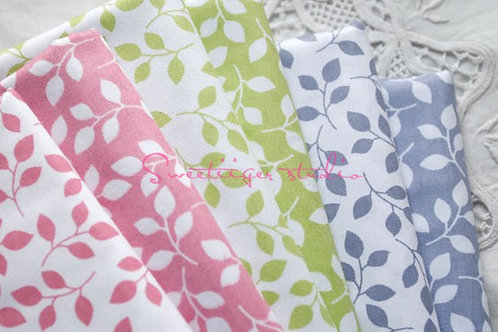50 *50 cm leafs 100% cotton doll clothes fabric