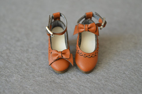 """12""""Blythe/Pullip/mmk/JerryB shoes special chocolat"""