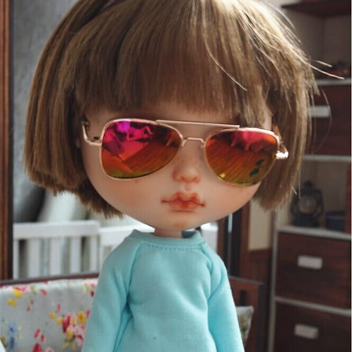 Blythe cool gold Pilot sunglasses 6 colors