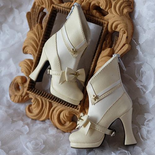 1/3 BJD shoes ivory Sailor Moon bows boots