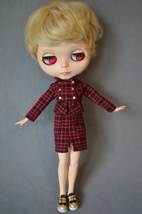 Blythe/Pullip fashion power suit outfit 2 sets