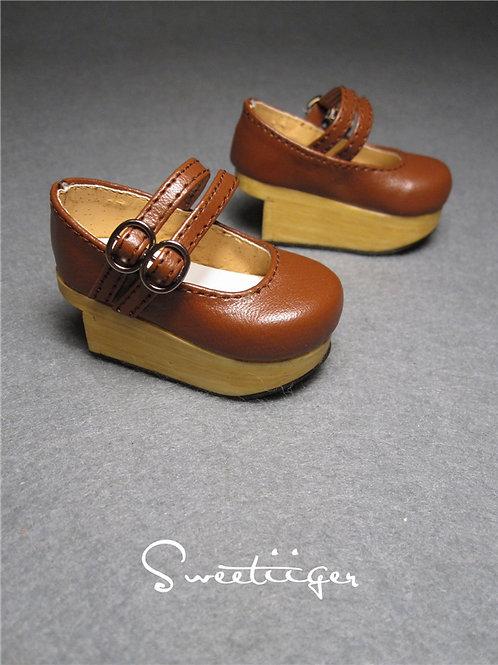 1/4 BJD shoes double types platform shoes