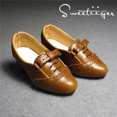 1/4 BJD elegant Oxford carved shoes