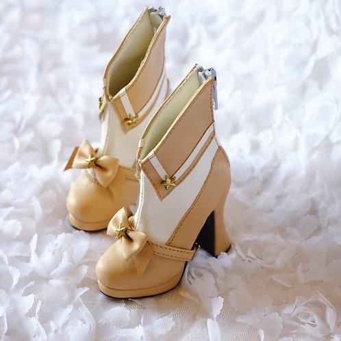 1/3 BJD shoes milk tea Sailor Moon bows boots