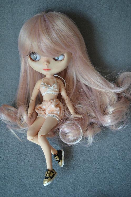 "Blythe/Pullip 8-10"" Doll fantasy wig [milkshake]"