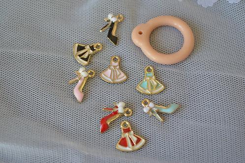 Blythe pull ring noble dress & heels 2 sets