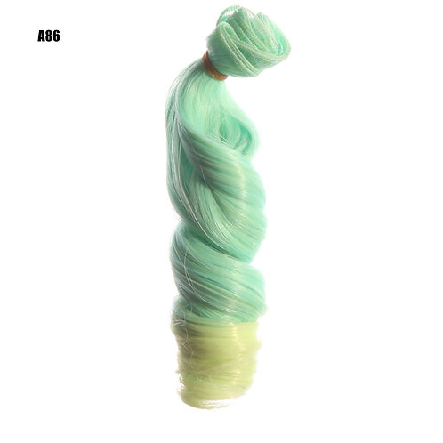 volume 15*100 cm doll wig material rooting hair