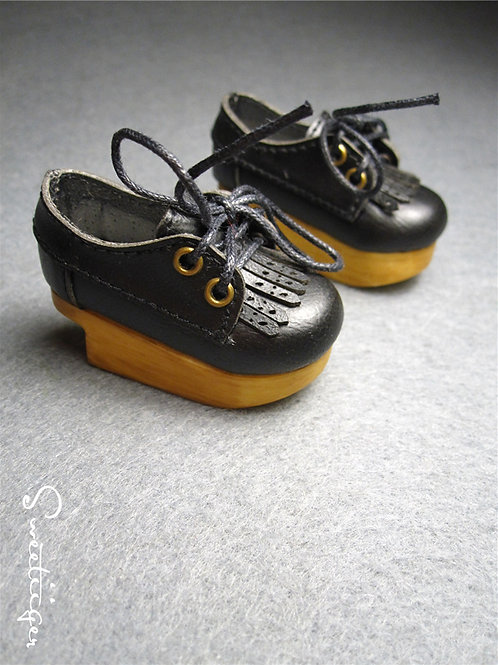 1/6 BJD carved Oxford tassel shoes