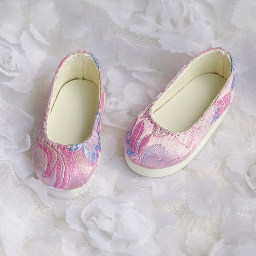1/6 BJD shoes Brocade flat shoes