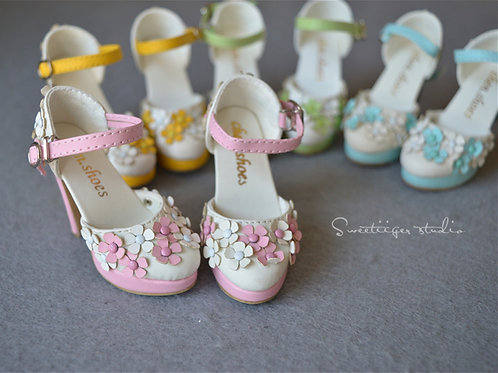 1/3 BJD shoes [summer garden]