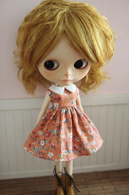 Blythe/Pullip outfit summer garden cute dress