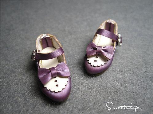 "12""Blythe/Pullip/mmk/JerryB shoes metal purple"