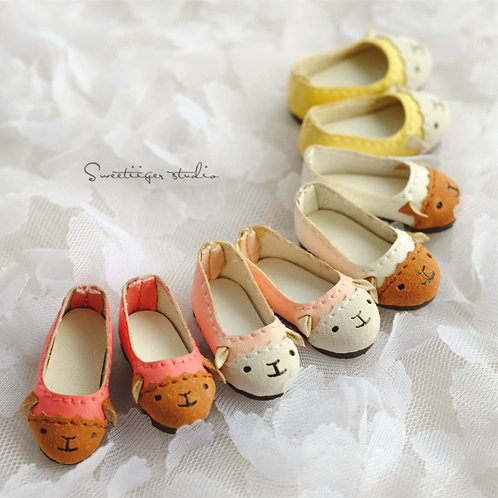 "12""Blythe/Pullip/mmk/JerryB shoes [cute sheep]"