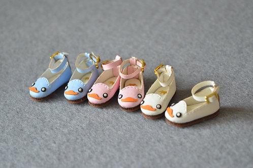 "12""Blythe/Pullip/mmk/JerryB shoes cute ducks"
