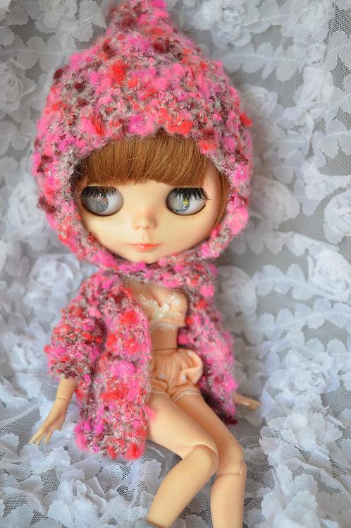 Blythe/Pullip Hand-woven cute pots sweater