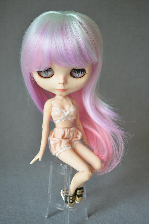 """Blythe/Pullip 8-10"""" Doll fantasy wig [Mousse]"""