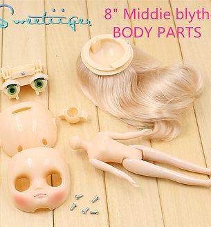 "8""Middie Blythe body parts"