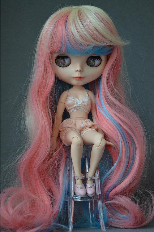 "Blythe/Pullip 8-10"" Doll fantasy wig [Ice cream]"