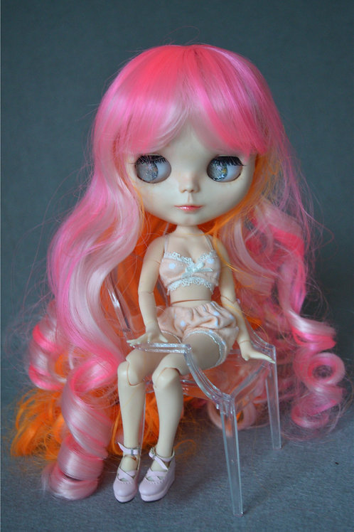 "Blythe/Pullip 8-10"" Doll fantasy wig [Jelly Jelly]"