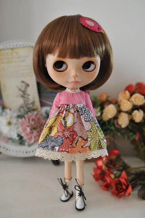 Blythe/Pullip sweet autumn dress