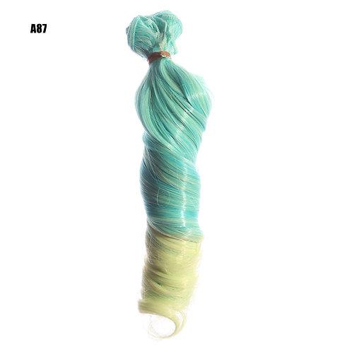volume 15*100 cm doll wig material rooting hair