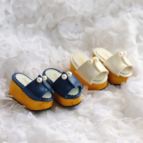 1/6 BJD shoes Pearls thick sandals shoes