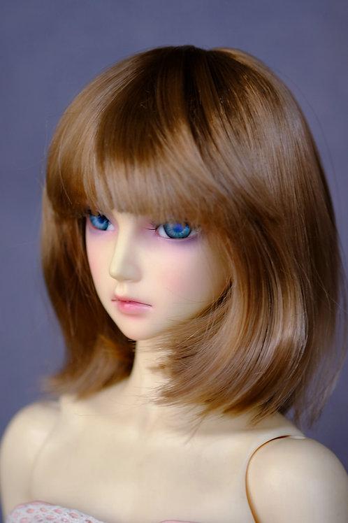"Manmade-Mohair 6-7"" 7-8"" 8-9"" Doll wig [LOB]"