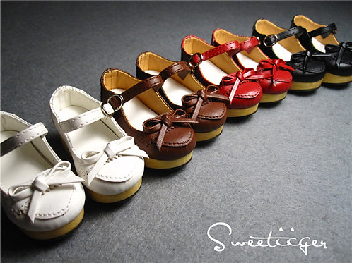 1/4 BJD elegant bow Lolita platform shoes