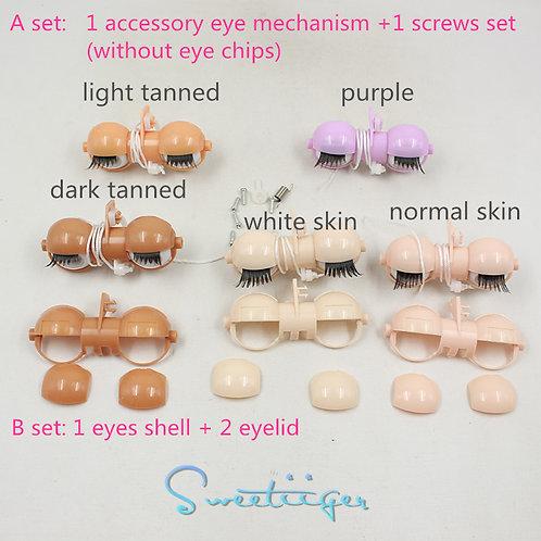 "12"" Blythe accessory eye mechanism-no eye chips"