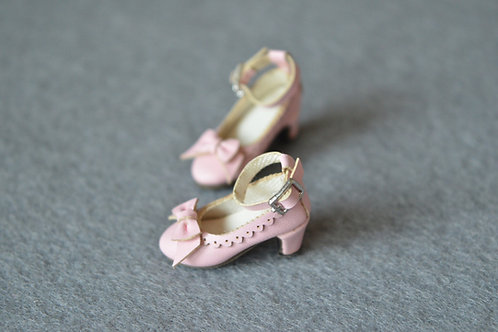 "12""Blythe/Pullip/mmk/JerryB shoes Lolita pink"
