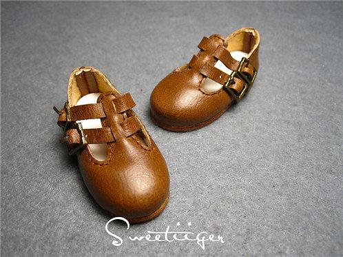 1/6 BJD Artificial leather casual shoes
